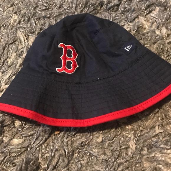 Boston Red Sox Infant bucket hat - NWT 799f9f5190c3